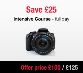 intensive DSLR beginners photography course London summer 2017 Sale