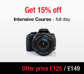 intensive dslr beginners photography course London winter 2016 Sale