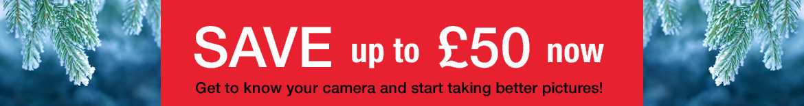 London photography courses and gift vouchers Winter 2016 Sale