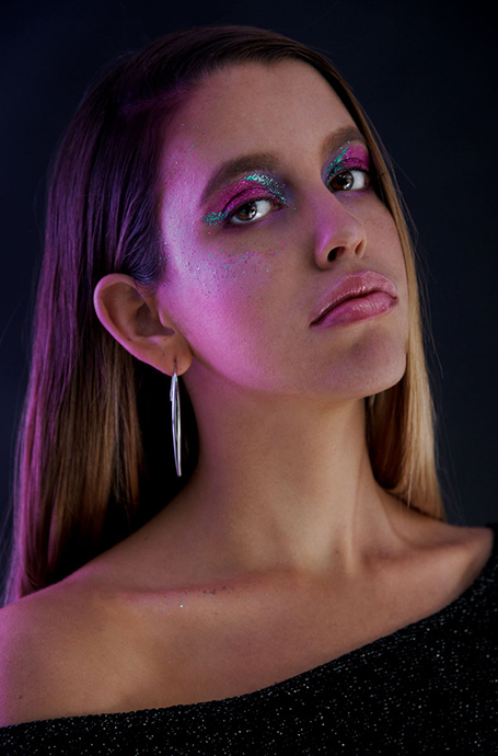 creative photography studio lighting colour gels workshop in London
