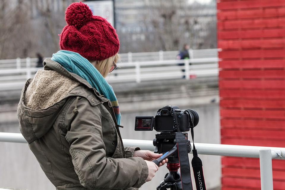 digital slr hd video course in London