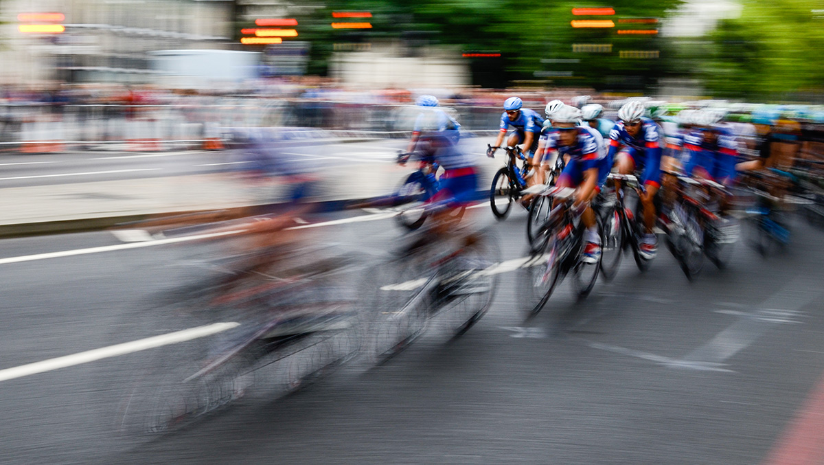 Richard Hill winning image from the Need for Speed photography competition