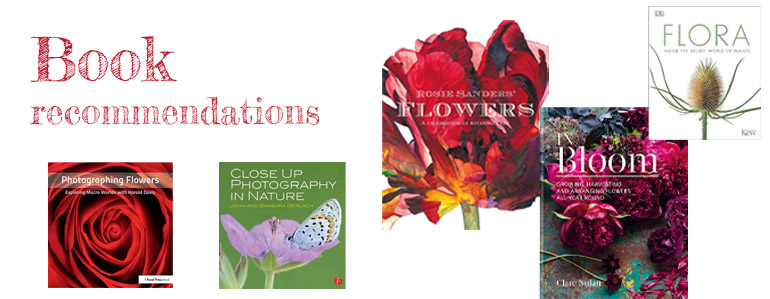 flower photography book recommendations