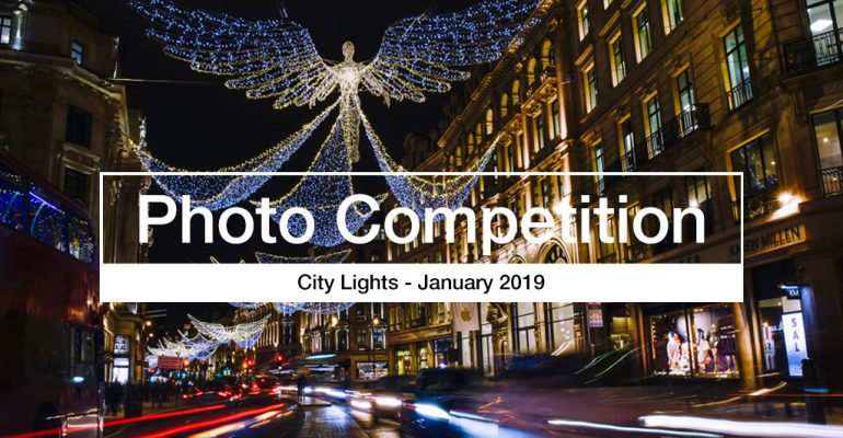 City Lights - photography competition London