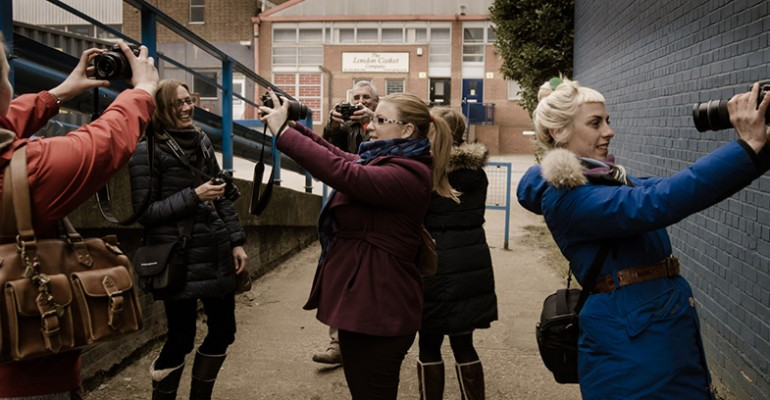 digital slr photography course in London