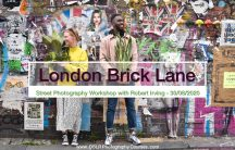 Street Photography Course London Brick Lane August 2020