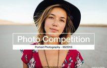 Portrait Photo Competition Banner