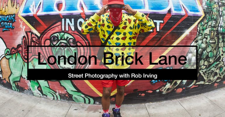 street photography with Rob Irving London