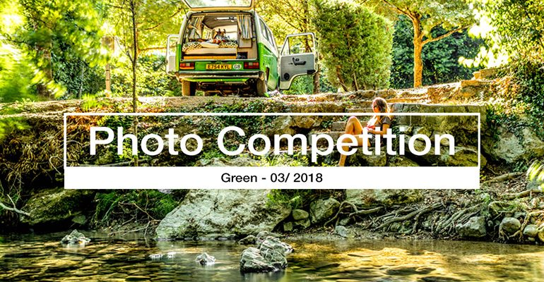 winner green photography competition