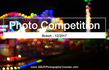 Photo Competition Banner Bokeh