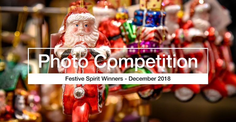 Festive Spirit photography competition winners
