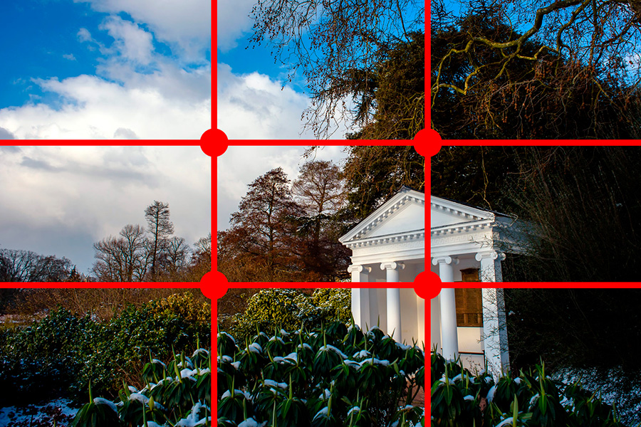 Kew Gardens - rule of thirds