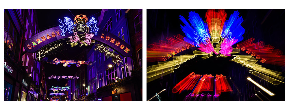 London lights - Carnaby Street