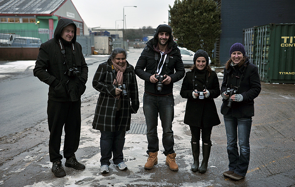intensive photography course in London - on 19 January 2013