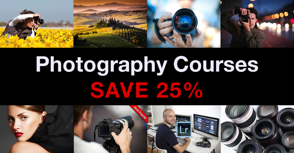 London photography courses black Friday offer on classes and gift vouchers
