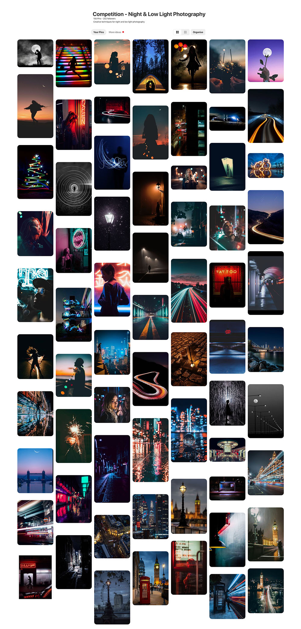 night low light photography competition