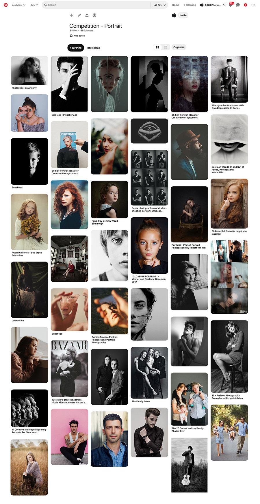 portrait photography pinterest 2020